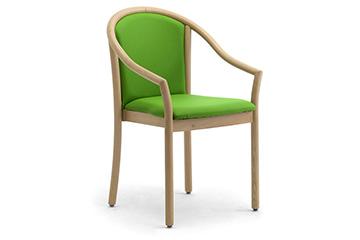 senioren holzstuhl und st hle f r seniorenheime leyform. Black Bedroom Furniture Sets. Home Design Ideas